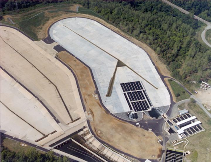 McAlpine Creek Wastewater Treatment Plant. Photo: State Utiility Contractors.