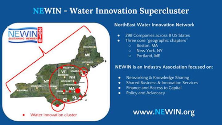 NEWIN rebrands as NorthEast Water Innovation Network. Photo: NEWIN.