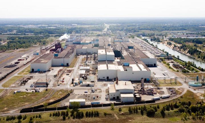 U.S. Steel's Portage, In. facility.