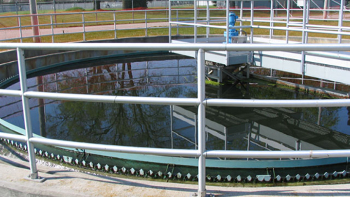 Photo: Monticello Wastewater Treatment Plant.