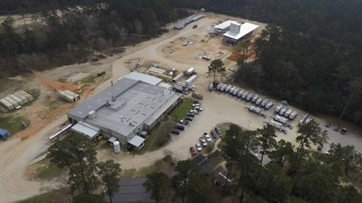 Materia's new Huntsville, Texas, facility.