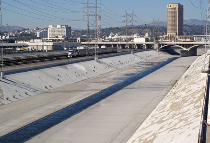 The Los Angeles River. Photo: Wikimedia Commons.