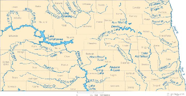 Content Dam Ww Online Articles 2017 07 North Dakota Rivers Map