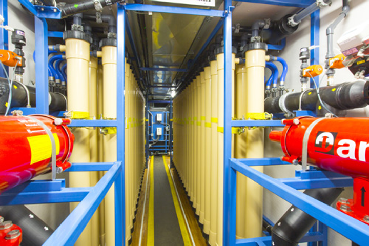 An inside look at Pall Water's Aria FAST mobile filtration system. Photos: Pall Water.