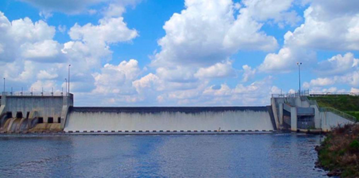 Union Lake Dam in Cumberland County. Photo courtesy of Cumberland County.