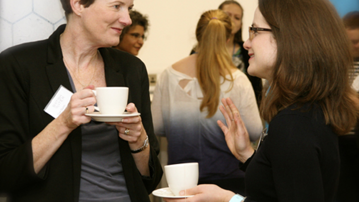 Delegates to Women in Water had the advantage of networking at the highest level.