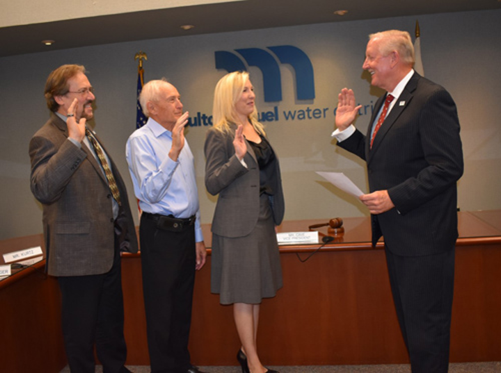 Kelly Jennings and Bill Moorhead join the water district's seven-member board of directors.