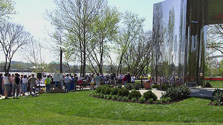 Theodore M. Berry International Friendship Park. Photo: Cincinati Parks