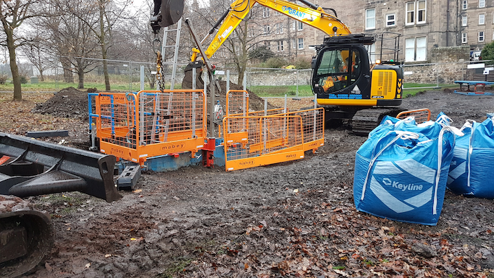 Edinburgh's Holyrood Park Hotel opening in the pipeline following completion of new sewer.