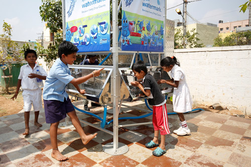 Cityzens Giving 'Water Goals' project will benefit over 5,000 children this year.