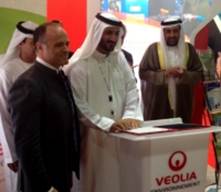 Partnership to help distribute Veolia water/wastewater systems in Middle East
