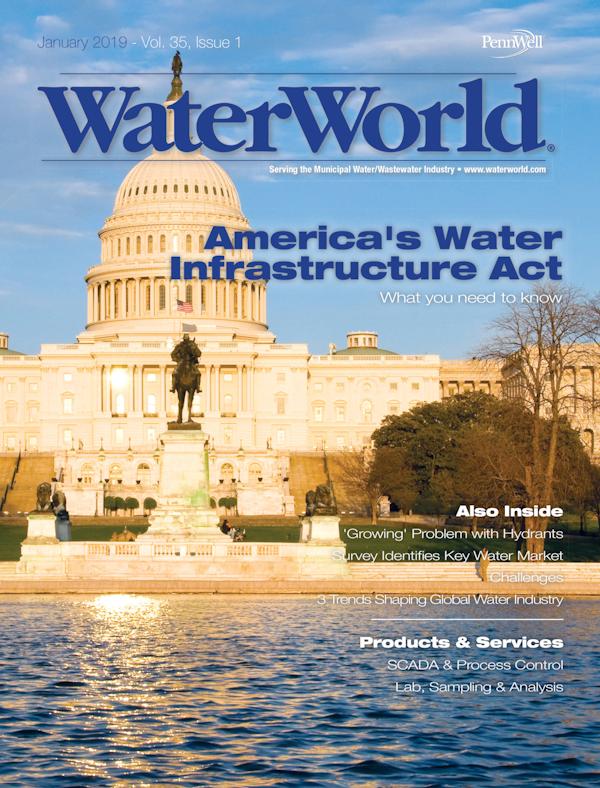 WaterWorld Volume 35, Issue 1