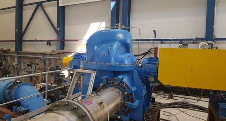 International technology Group ANDRITZ supplied 12 multi-stage axial split case and high-pressure ring section pumps to the Water Authority of Jordan last year.
