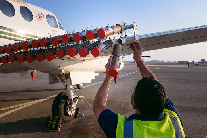 UAE's research is making a demonstrable contribution to the scientific basis for effective cloud seeding and rain enhancement.