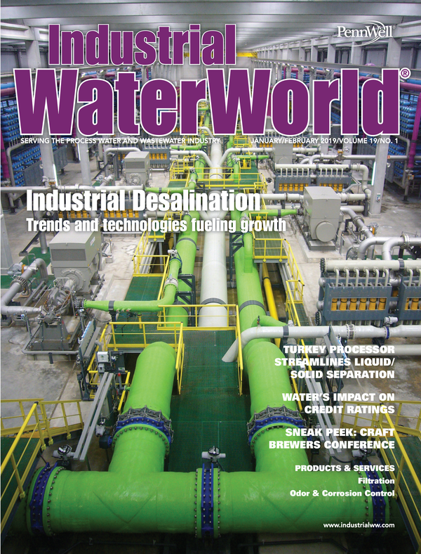 Industrial WaterWorld Volume 19, Issue 1