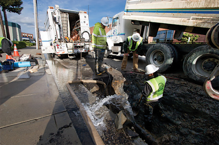 Historically, EBMUD was replacing around 10 miles of distribution pipe per year. The utility's approach to selecting the projects was reactive, replacing only pipes that had broken many times before. Although EBMUD's main break rate was within industry standards, the failure rate was increasing.
