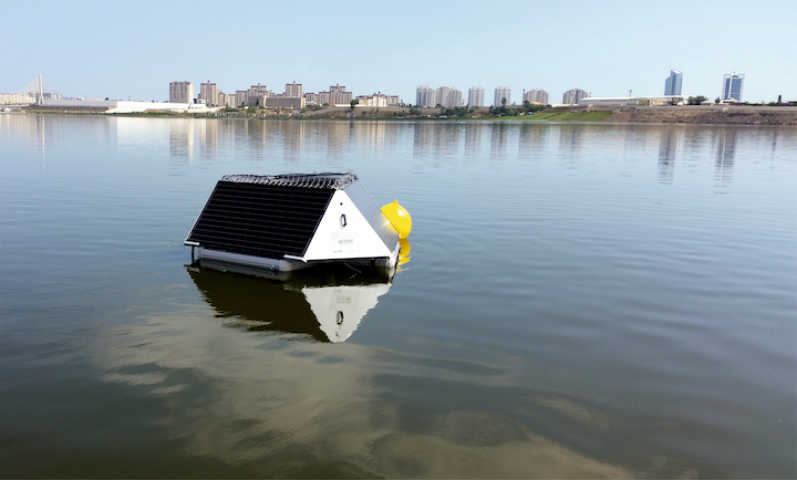 LG Sonic's solar-powered MPC-Buoy for real-time monitoring is one of 15 technologies being shown at BlueTech Forum 2019.