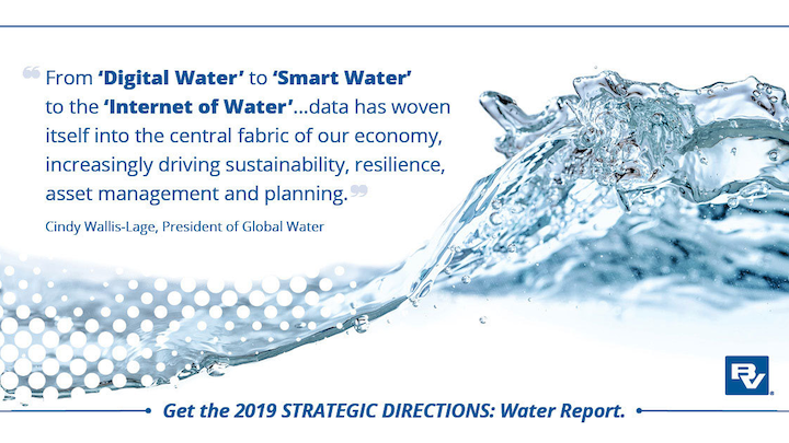 New Black & Veatch Water Report dives into the current landscape of water.