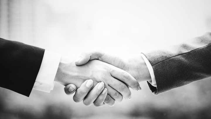 Adult Black And White Business Deal 1437866
