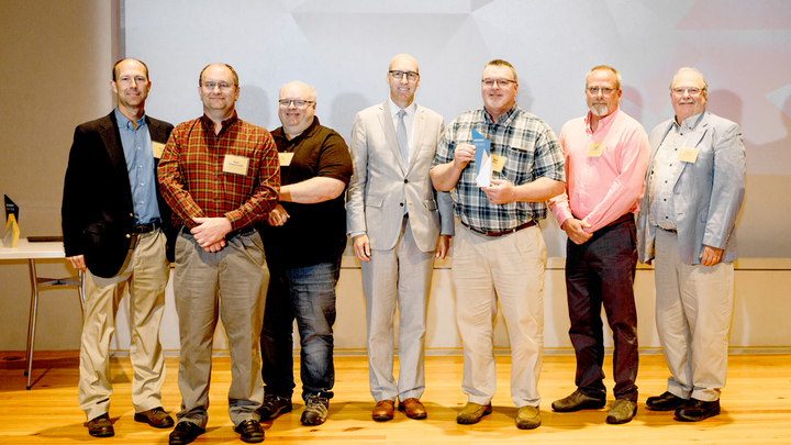 Kennebunk, Kennebunkport and Wells (KK&W) Water District was recently honored with an award for exceptional on-the-job safety performance during The MEMIC Group's Annual Meeting of Policyholders.