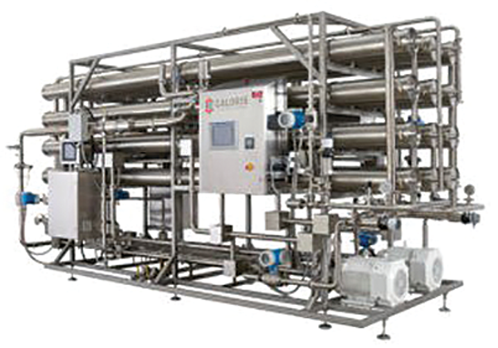 Two reverse osmosis (RO) polisher systems from Caloris save a milk powder production facility more than 144,000 gallons of potable water every day.