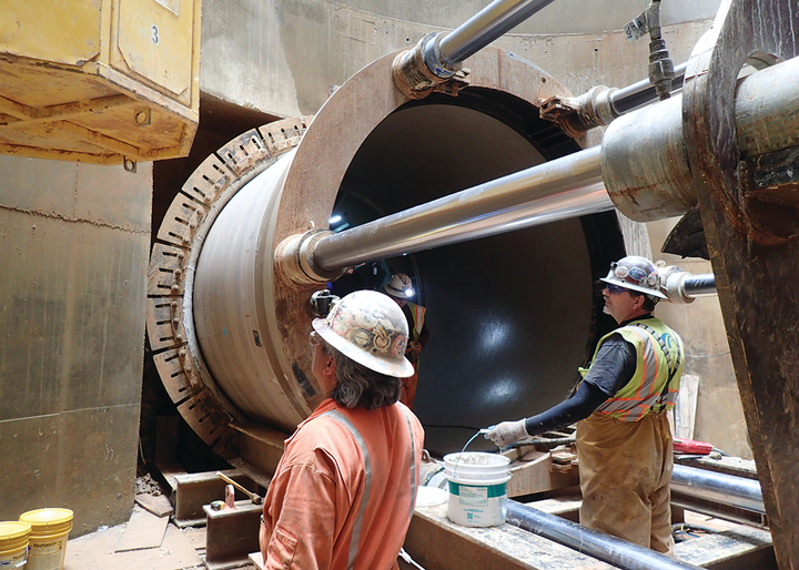 Together with the new 225 million-gallon-per-day wet weather treatment facility at Blue Plains, this 7-mile tunnel segment reduces combined sewer overflows by more than 80%.