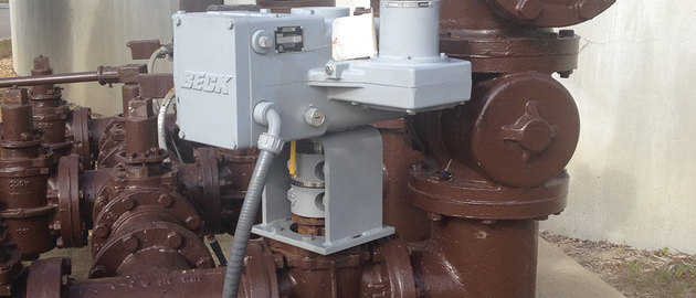 A wastewater treatment plant in Florida uses Beck Actuators on waste activated sludge (WAS) valves in both modulating and open/close service, as well as other areas throughout its treatment process.