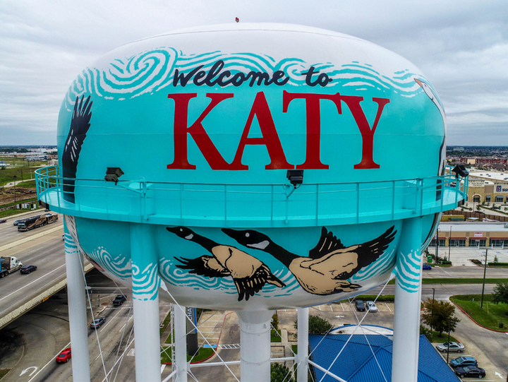 Last year's winning tanks are located in Katy, Texas.