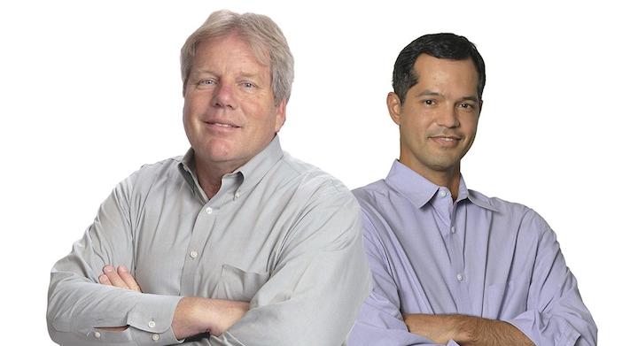 Dr. Jose Jimenez and Ken Schnaars